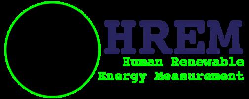 The Human Renewable Energy Measurement