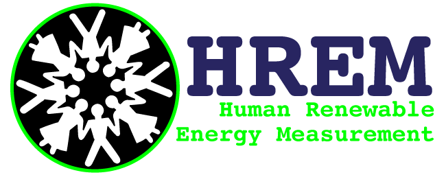 The Human Renewable Energy Measurement